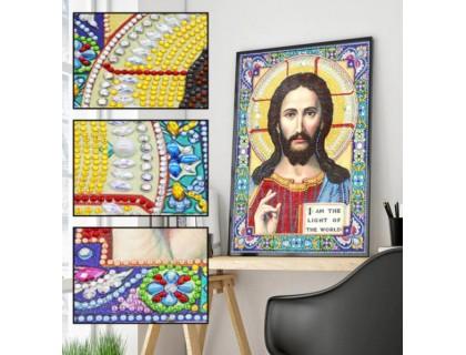 Купить Алмазная вышивка 5D Наш Бог 34 х 24 см (арт. PR1205)