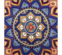 Алмазная мозаика 5D Мандала 24 х 24 см (арт. PR1216)