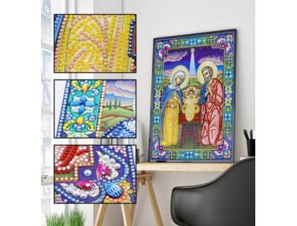 Купить Алмазная мозаика 5D Святая ночь 34 х 24 см (арт. PR1221)