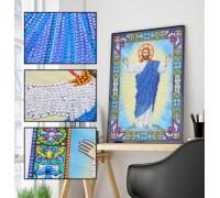Алмазная мозаика 5D Господь наш 34 х 24 см (арт. PR1222)
