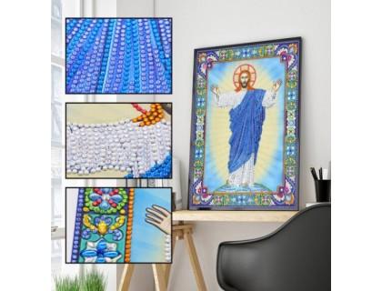 Купить Алмазная мозаика 5D Господь наш 34 х 24 см (арт. PR1222)