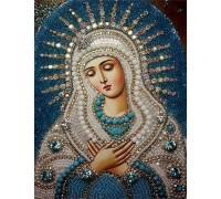 Вышивка стразами Икона Девы Марии 34 х 24 см (арт. PR553)