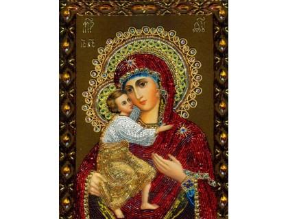 Купить Алмазна вишивка Феодорівська Ікона 34 х 24 см (арт. PR555)