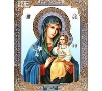 Вышивка стразами Икона Девы Марии с сыном 34 х 24 см (арт. PR831)