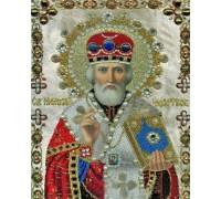 Алмазна вишивка Микола Чудотворець Ікона 34 х 24 см (арт. PR832)