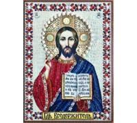 Мозаика стразами 5D Господь наш 34 х 24 см (арт. PR972)