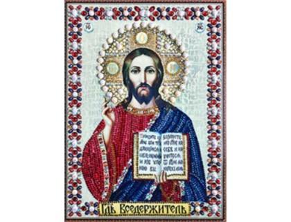 Купить Мозаика стразами 5D Господь наш 34 х 24 см (арт. PR972)