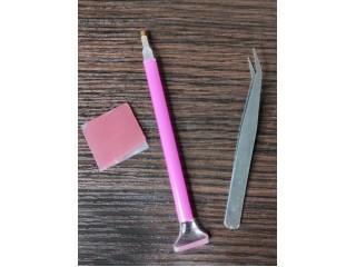 Как пользоваться инструментами в алмазной вышивки?