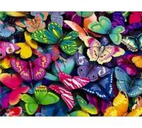 Алмазная вышивка Небо в бабочках 40 х 30 см (арт. FS190)