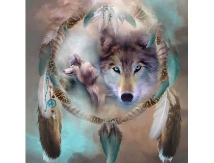 Купить Набор алмазной вышивки Сильный волк 50 х 50 см (арт. FS218)