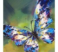 Алмазная вышивка Мерцание бабочки 30 х 30 см (арт. FS254) DIY