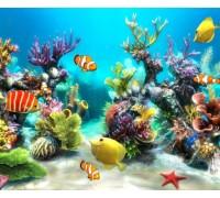 Алмазная вышивка Подводный мир 60 х 50 см (арт. FS304)