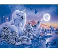 Алмазная вышивка Царство животных 40 х 30 см (арт. FS311) волки