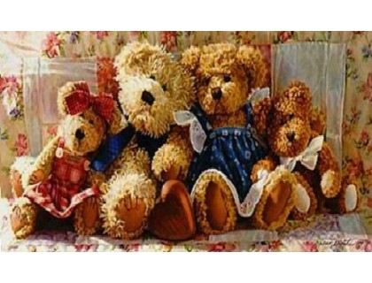 Купить Алмазная мозаика Любимые игрушки 30 х 40 см (арт. FS390)