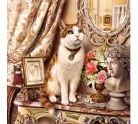 Набор алмазной мозаики Любимый кот 50 х 50 см (арт. FS500)