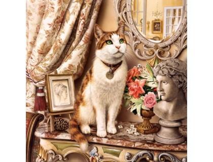Купить Набор алмазной мозаики Любимый кот 45 х 45 см (арт. FS500)