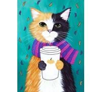 Набор алмазной мозаики полная выкладка Мой милый кот 30 х 20 см (арт. FS538)
