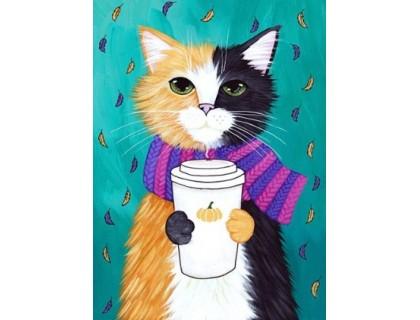 Купить Набор алмазной мозаики полная выкладка Мой милый кот 30 х 20 см (арт. FS538)