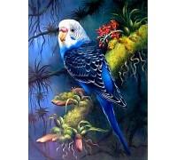 Алмазна мозаїка Мій улюблений хвилястий папуга 30 х 40 см (арт. FS812)