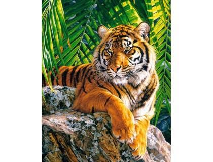 Купить Алмазная мозаика без коробки MyArt Милый хищник 40 х 30 см (арт. MA866)