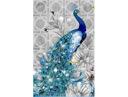 Купить Алмазная вышивка Павлин 40 х 27 см (арт. PR055)