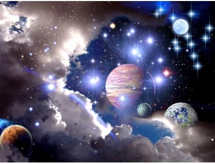 Купить Алмазная вышивка Вселенная 30 х 45 см (арт. FS043)