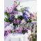 Купить Картина-раскраска Menglei Сирень в стеклянной вазе КН1074 40 х 50 см