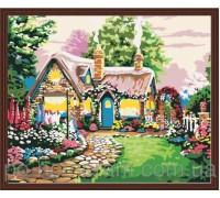 Рисование по номерам Идейка Сказочный домик (КН047) 40 х 50 см