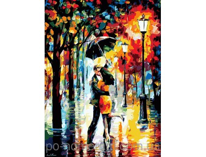 Купить Картина по номерам Menglei Танец под дождем MG1016 40 х 50 см