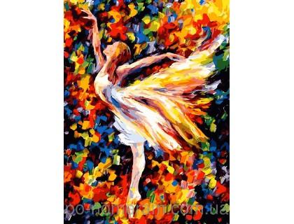 Купить Картина по номерам Menglei Балет MG1019 40 х 50 см