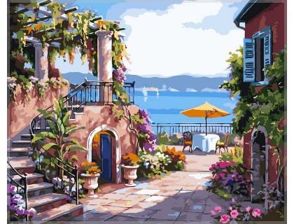Купить Картина по номерам Babylon Тихий дворик VP214 40 х 50 см