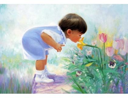 Купить Картина по номерам Menglei Аромат цветов MG1029 40 х 50 см