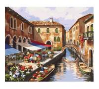 Картина по номерам без коробки Идейка Венеция в цветах 40 х 50 см (арт. KHO2191)