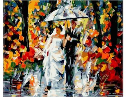 Купить Картина по номерам Babylon Счастливая свадьба VP080 40 х 50 см