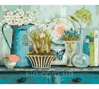 Набор для раскраски картин по номерам Идейка Прованский натюрморт худ Уайт Кэтрин (KH2932) 40 х 50 см