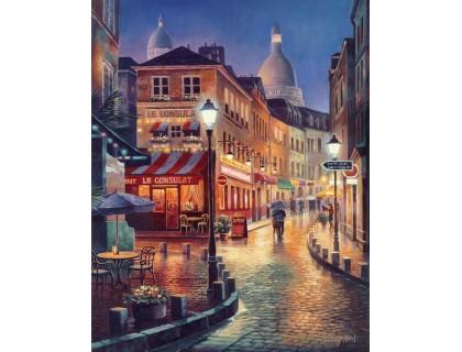 Купить Рисование по номерам Идейка Вечерний город 40 х 50 см (арт. KH2116)