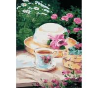 Картина по номерам без коробки Идейка Пикник в саду 30 х 40 см (арт. KHO2206)