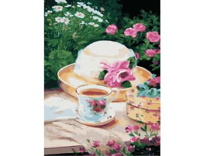 Купить Картина по номерам без коробки Идейка Пикник в саду 30 х 40 см (арт. KHO2206)