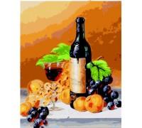 Картина по номерам Идейка КН2066 Аромат вина 40 х 50 см