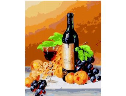 Купить Картина по номерам Идейка КН2066 Аромат вина 40 х 50 см