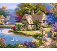 Картина по номерам ArtStory Сказочный домик AS0029 40 х 50 см