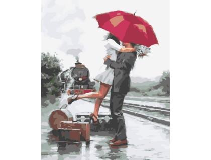 Купить Картина по номерам ArtStory  Долгожданная встреча AS0046 40 х 50 см
