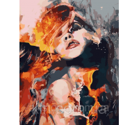 Картина по номерам ArtStory Огненная дива AS0086 40 х 50 см