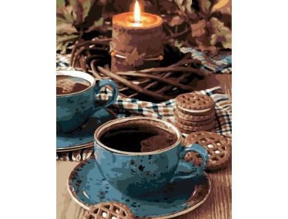 Купить Картина по номерам ArtStory Кофейная романтика AS0130 40 х 50 см