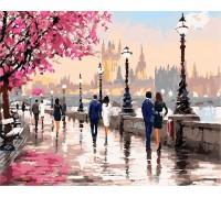 Картина по номерам ArtStory  Осенняя набережная AS0135 40 х 50 см