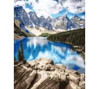 Картина по номерам ArtStory Удивительные горы AS0150 40 х 50 см