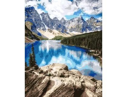 Купить Картина по номерам ArtStory Удивительные горы AS0150 40 х 50 см