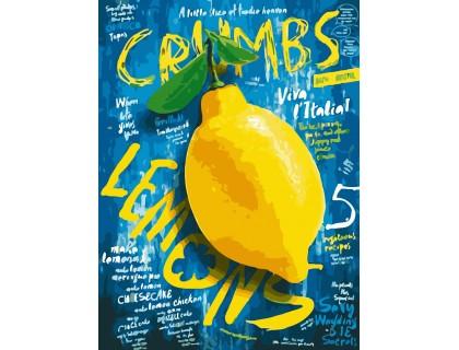 Купить Картина по номерам без коробки ArtStory Сочный лимончик 30 х 40 см (арт. AS0213)