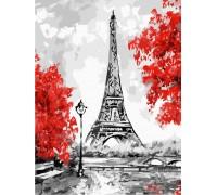 Картина по номерам без коробки ArtStory Сказочный Париж 30 х 40 см (арт. AS0222)