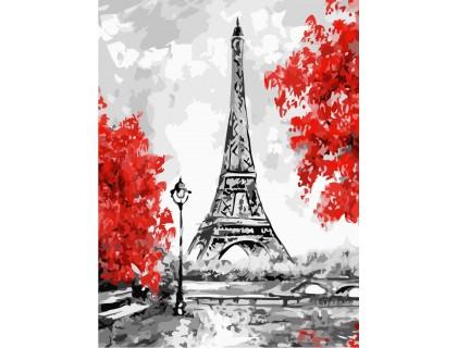 Купить Картина по номерам без коробки ArtStory Сказочный Париж 30 х 40 см (арт. AS0222)